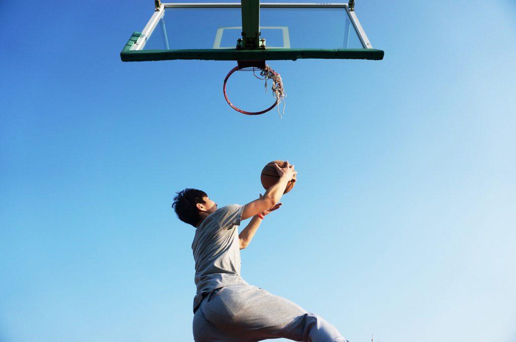 バスケットボールに明け暮れた学生時代